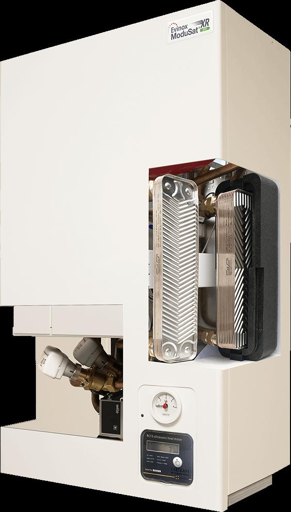 ModuSat XR heat interface unit Cut Away