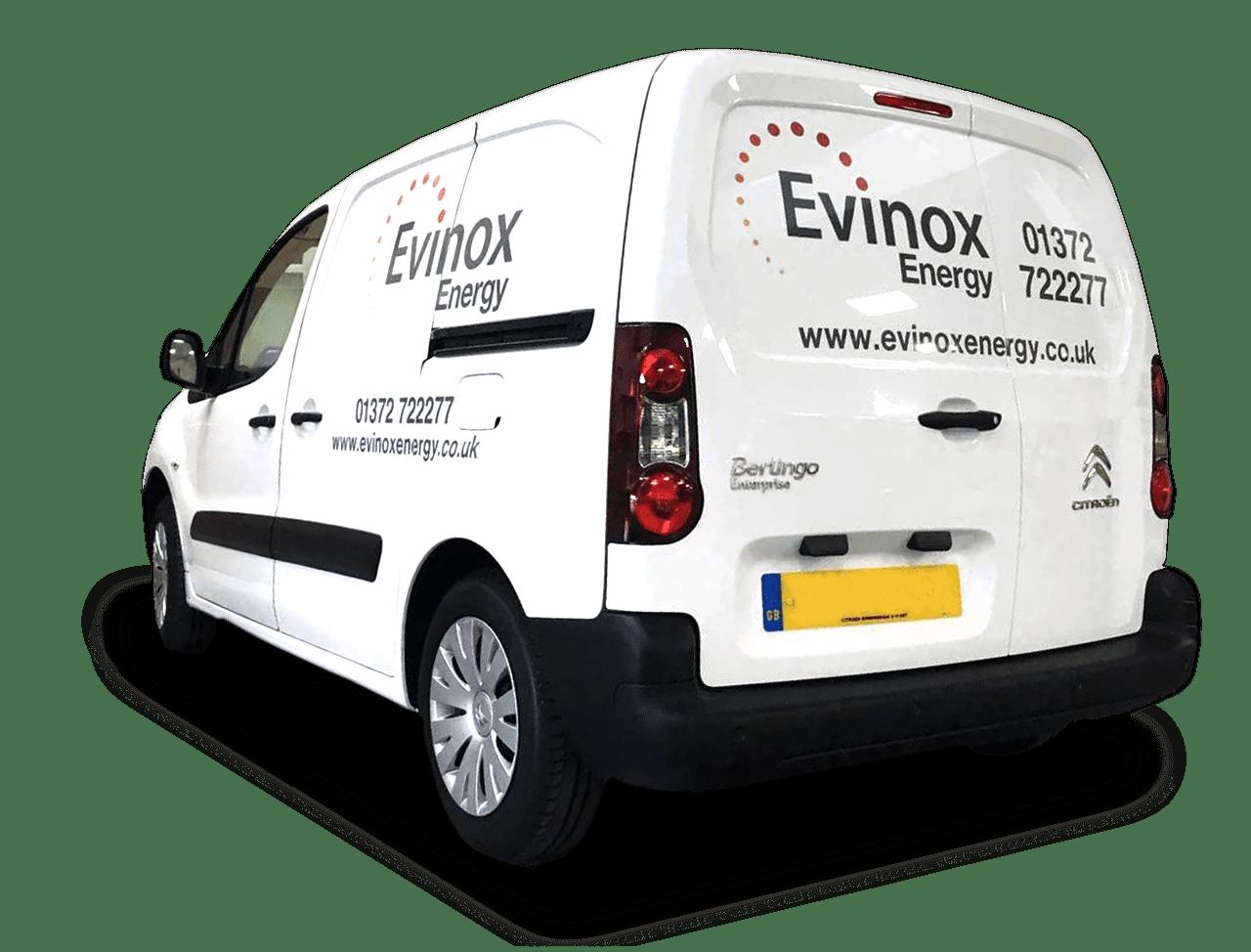 Evinox Service and Maintenance Van