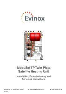 ModuSat TP Installation & Maintenance Manual 2013
