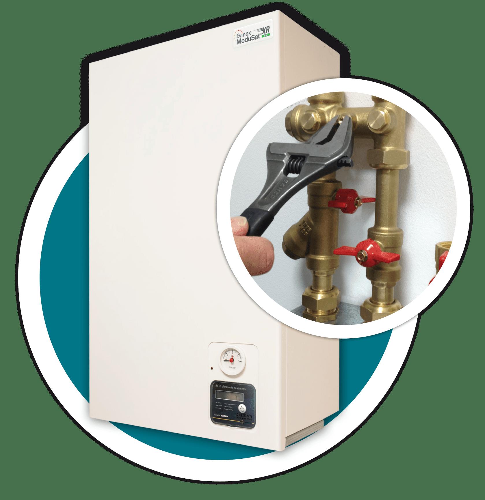 heat interface unit service and maintenance