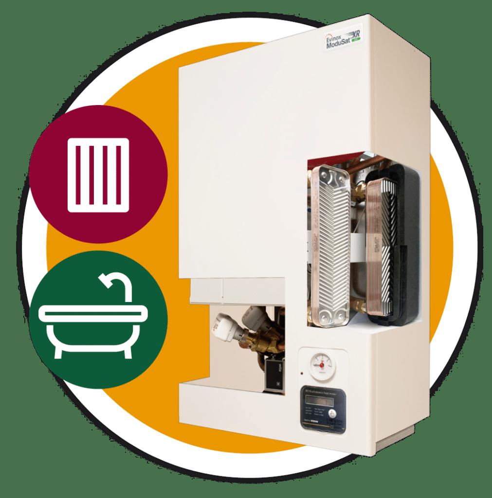 ModuSat XR Twin Plate Heat Interface Unit